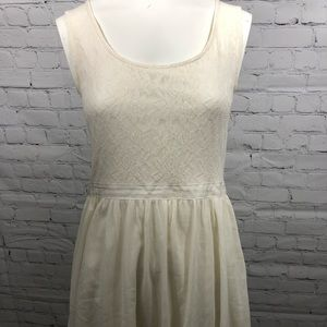 Frenchi white lace dress